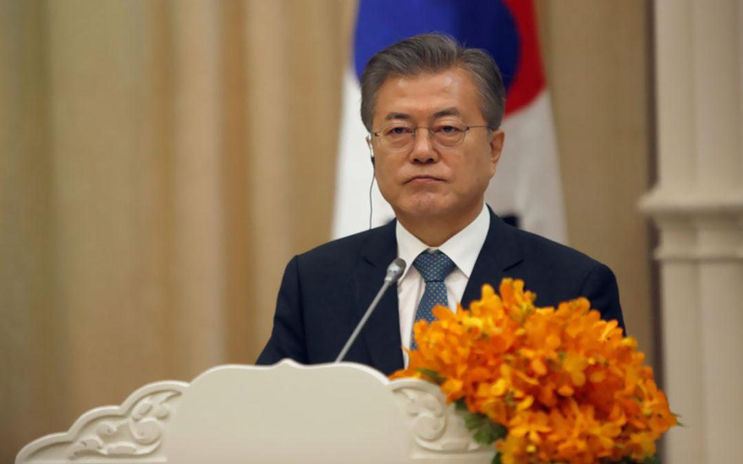 رئيس كوريا الجنوبية يجتمع مع ترامب لمناقشة المحادثات النووية المتعثرة