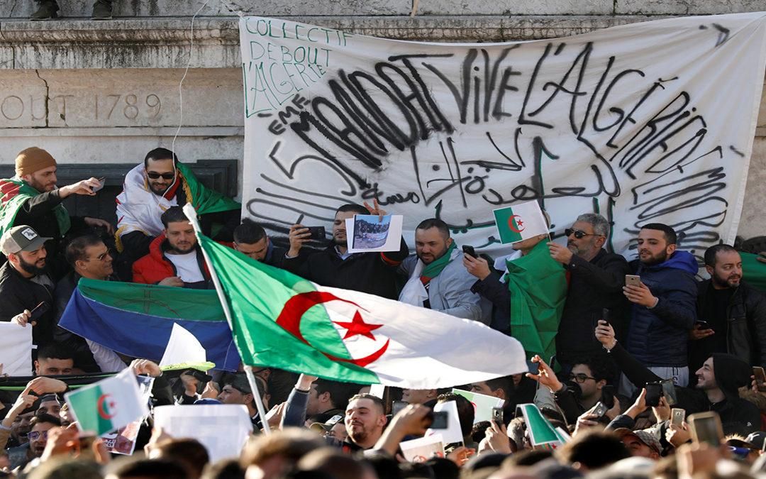 تظاهرة طلابية جديدة في وسط الجزائر…