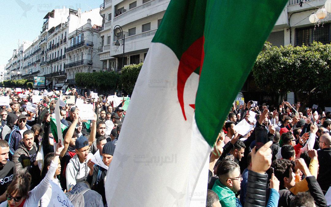 ألف شخص بين طلاب ومدرسين تظاهروا وسط العاصمة الجزائرية