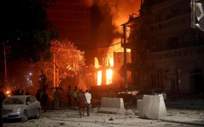 إنفجار قوي في وسط مقديشو