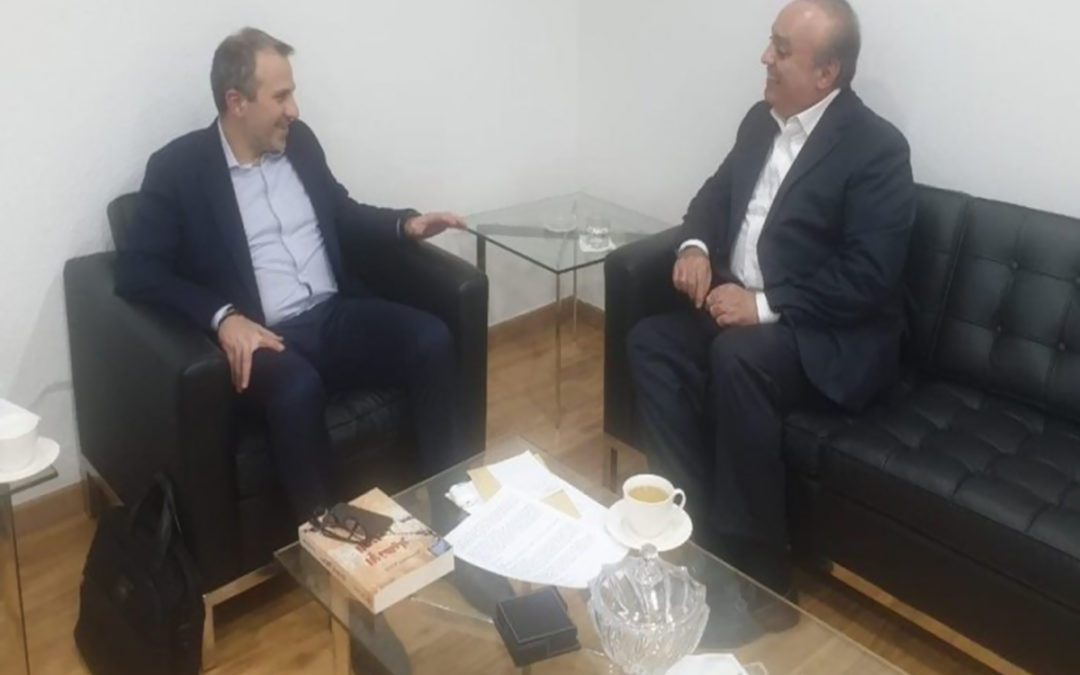 وهاب بعد زيارته الوزير باسيل: هناك تفاهم على أهمية العلاقة بين مكونات الجبل