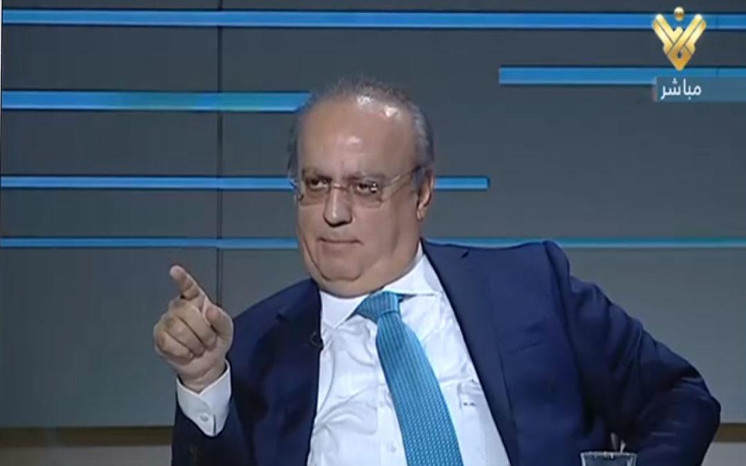 """وهاب للرئيس الحريري عبر شاشة """"المنار"""": بموقفك ضد العدوان تحمي الوحدة الوطنية والدولة وتسهل العمل الحكومي"""