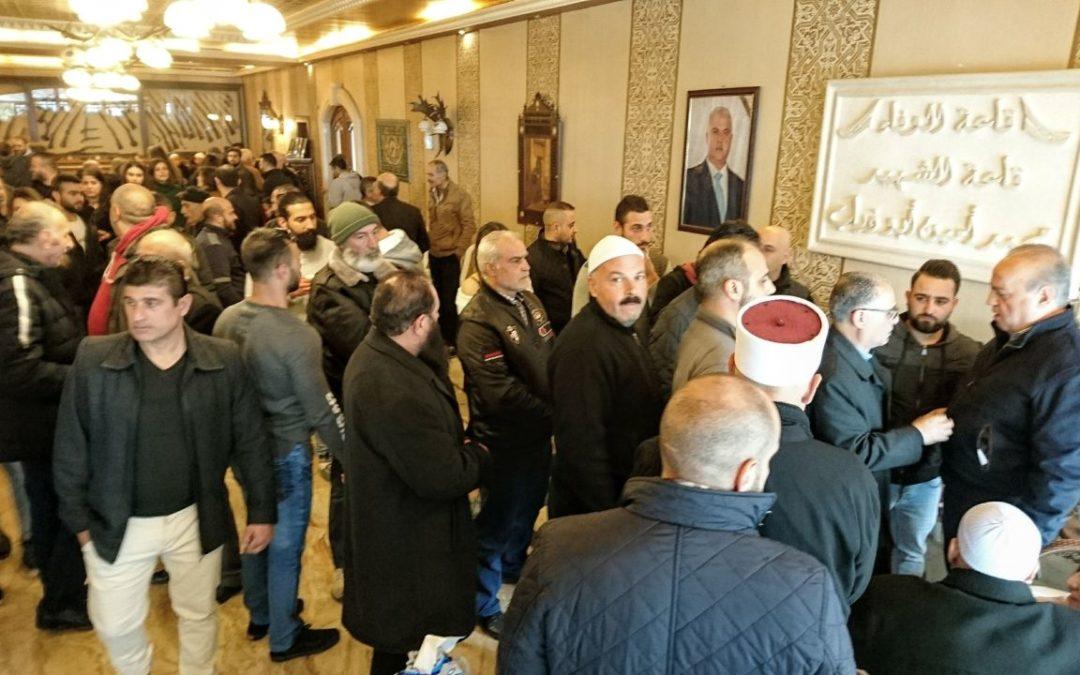 وهاب ردّ على عثمان في قضية استشهاد محمد أبوذياب وتمنى وضع اقتراح الوزير باسيل بكشف السرية المصرفية موضع التنفيذ