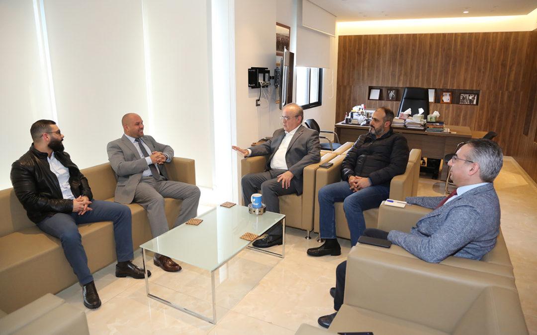 وهاب إستقبل سفير كوبا في لبنان وجرى عرض للأوضاع في المنطقة