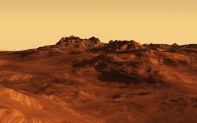 رصد أول هزة على كوكب المريخ