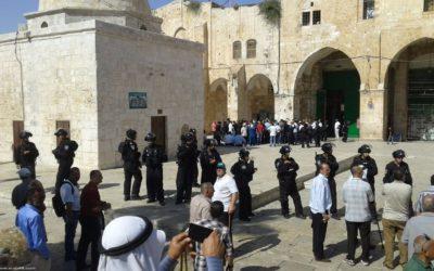 """بحجة """"الأعياد اليهودية"""".. القدس والأقصى والفلسطينيون هم الضحية"""