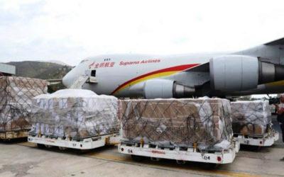 وصول طائرة صينية ثالثة تحمل مساعدات إنسانية إلى فنزويلا