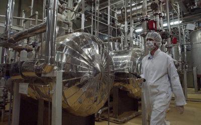 إيران تبدأ إنتاج اليورانيوم المخصب.. تحذير أوروبي وأميركي