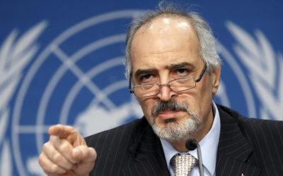 بشار الجعفري في مجلس الأمن: جلساتكم إستعراضية ومظللة
