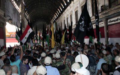 سورية تجدد تضامنها مع الشعب الفلسطينى ودعمها اللامحدود لتحرير كل شبر من الاراضى العربية المحتلة