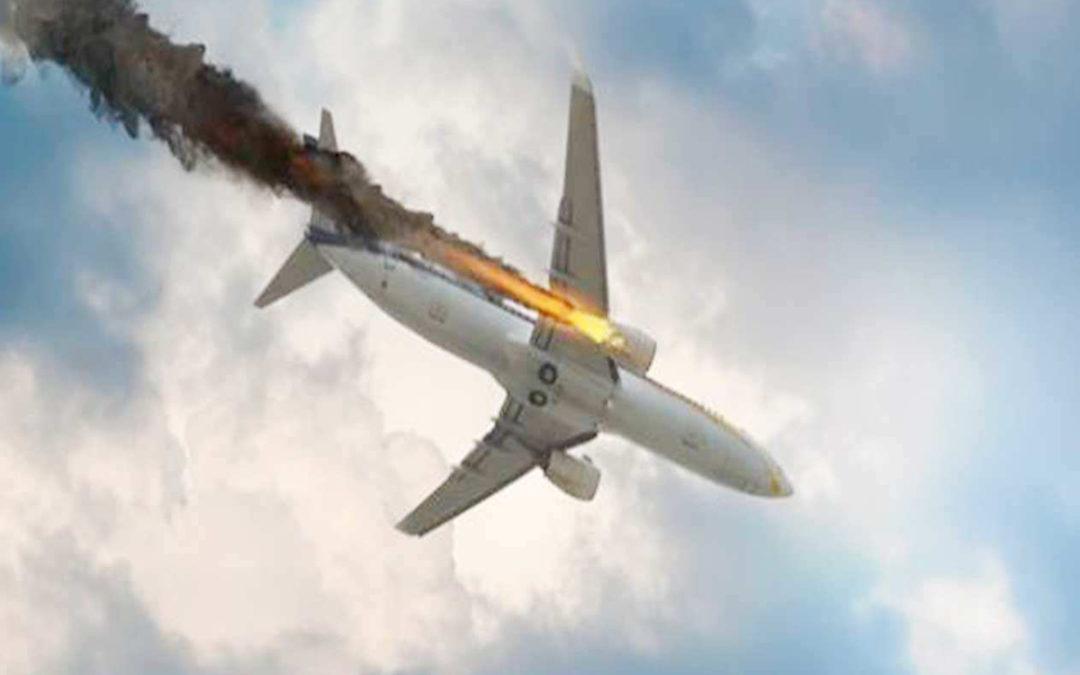 مروحية تضرب طائرة.. ومصرع جميع الركاب