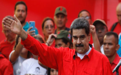 مادورو: نعتقد أنه بوسعنا إيجاد حل ديمقراطي وسلمي للنزاع في فنزويلا