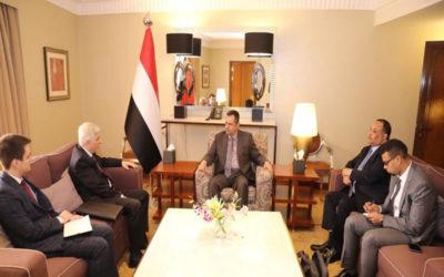 رئيس الوزراء اليمني يشيد بالموقف الروسي الداعم للشرعية في بلاده