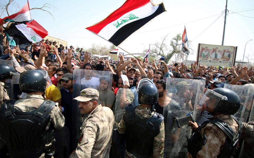 في بغداد حظر للتجول حتى إشعار آخر…
