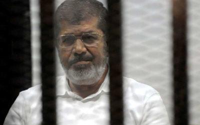 وفاة الرئيس الأسبق محمد مرسي أثناء جلسة محاكمة