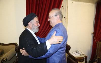 وهاب بعد زيارته السيد إبراهيم أمين السيد: سلاح المقاومة ضمانة لمنع التقسيم والتوطين