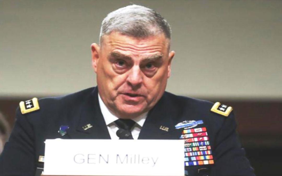 مجلس الشيوخ الأميركي صادق على تعيين الجنرال ميلي رئيسا للاركان