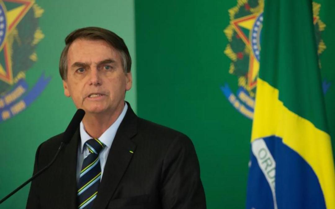 الرئيس البرازيلي قلل من خطورة حرائق الأمازون وهاجم الصحافة