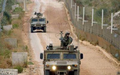 تحركات للعدو وشق طريق في مخافر العديسة واستنفار للجيش واليونيفيل