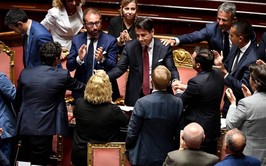 ولادة عصيبة للحكومة الإيطالية وسط انقسام داخلي ومعارضة شرسة