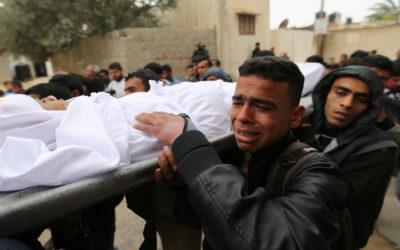 إستشهاد فلسطيني وإصابة 3 جنود للاحتلال في تبادل لاطلاق النار على حدود غزة