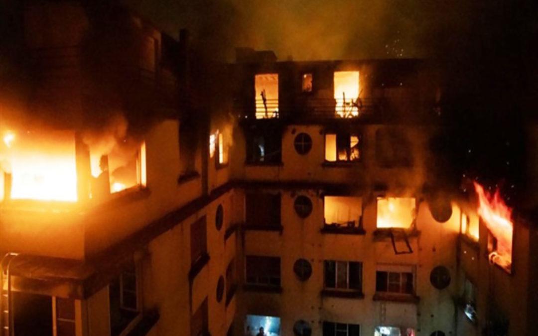 مقتل شخص على الأقل باندلاع حريق في مستشفى قرب باريس