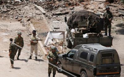 الدفاع الروسية تكشف عن مخطط للمسلحين لشن هجوم كيميائي في سوريا