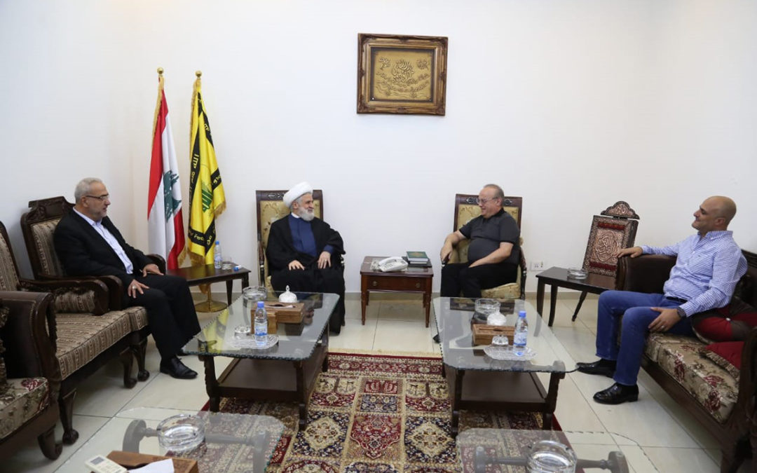 وهاب زار الشيخ نعيم قاسم وجرى عرض للأوضاع المحلية والإقليمية