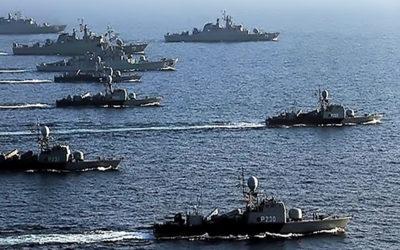 مناورة ضخمة للجيش الإيراني في بحر عمان وتحذير للقوات الأجنبية بالإبتعاد عن منطقة العمليات