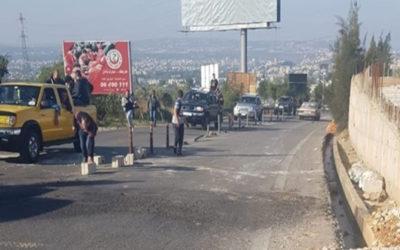 فتح طرقات في عدد من المناطق اللبنانية