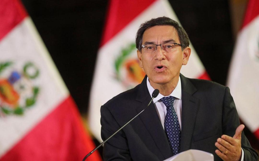 رئيس البيرو عين حكومة جديدة