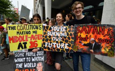 متظاهرون في سيدني أطلقوا احتجاجات عالمية على ظاهرة الاحتباس الحراري