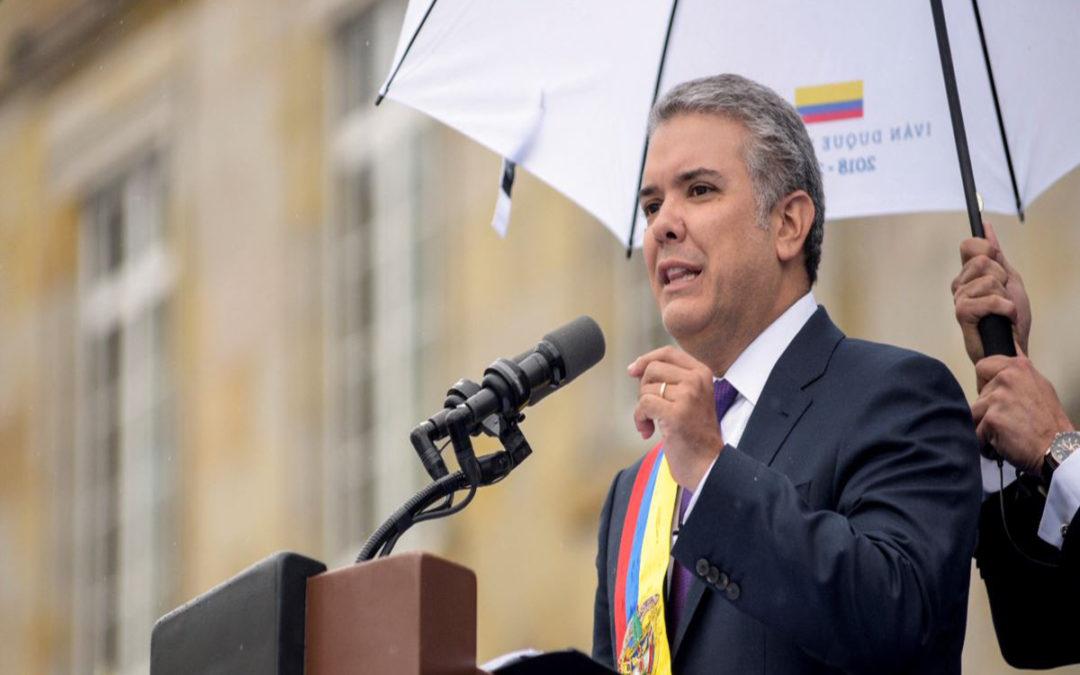 الرئيس الكولومبي يطلق الحوار الوطني لتهدئة الاحتجاجات الشعبية