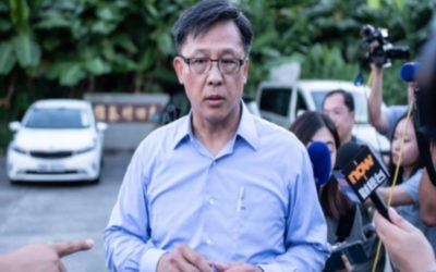 تعرض نائب موال لبكين في هونغ كونغ لهجوم بسكين وإصابته بجروح