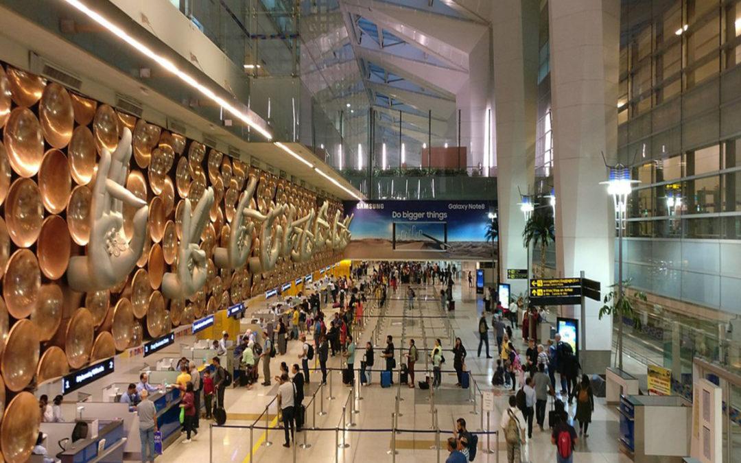 العثور على حقيبة مملوءة بمادة شديدة الانفجار في مطار دلهي بالهند