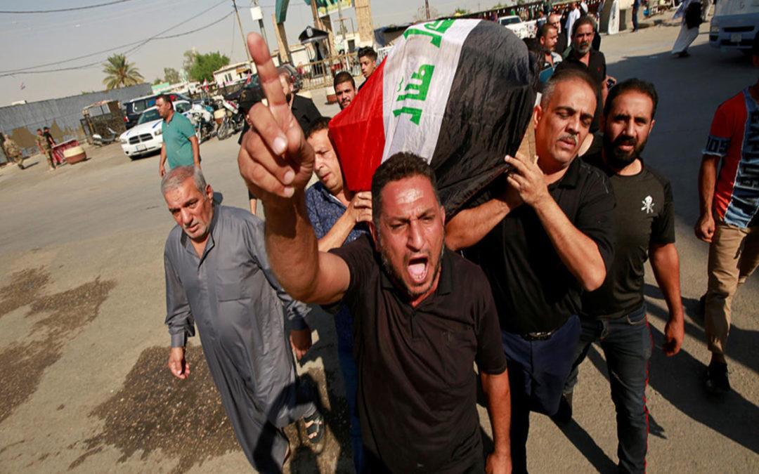 حصيلة قتلى احتجاجات العراق منذ بدايتها تجاوزت 400 شخص