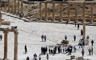 طعن 5 أشخاص بينهم سياح أجانب بمنطقة جرش الأثرية في الأردن