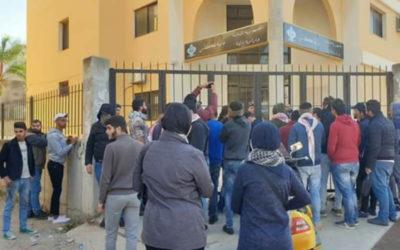 المحتجون في الشمال أقفلوا مراكز ومؤسسات