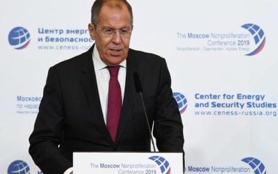 لافروف: التعاون بين روسيا والهند والصين عامل استقرار دولي
