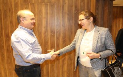 وهاب إستقبل سفيرة الملكية الدانماركية في لبنان ميريتي يول وعرض معها التطورات في لبنان والمنطقة
