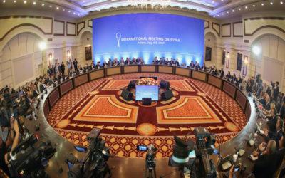 """أطراف """"أستانا"""": رفض الأجندات الانفصالية في سوريا والتأكيد على أهمية اتفاقية أضنة"""