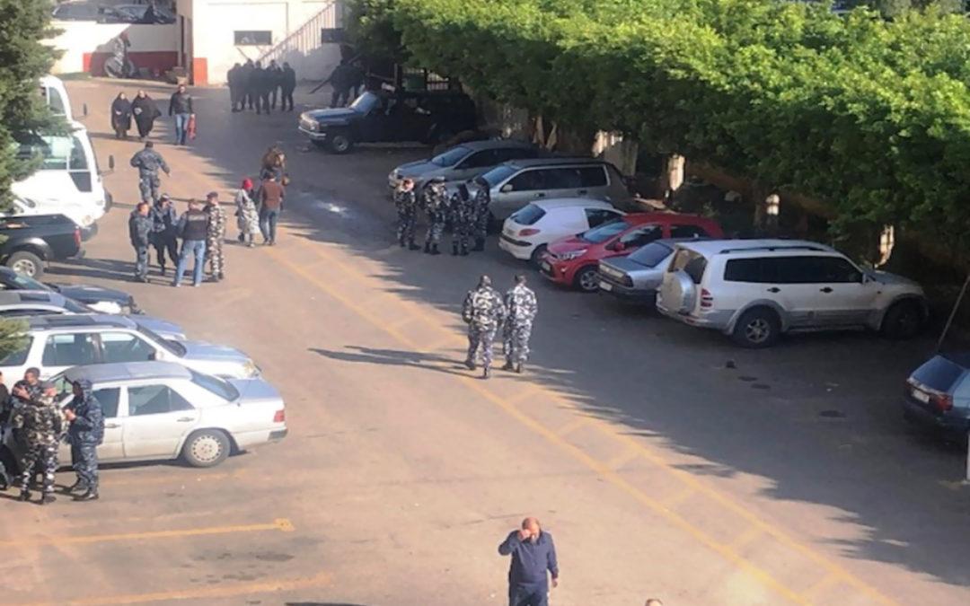 اجراءات امنية صارمة في محيط سرايا طرابلس وقصر العدل