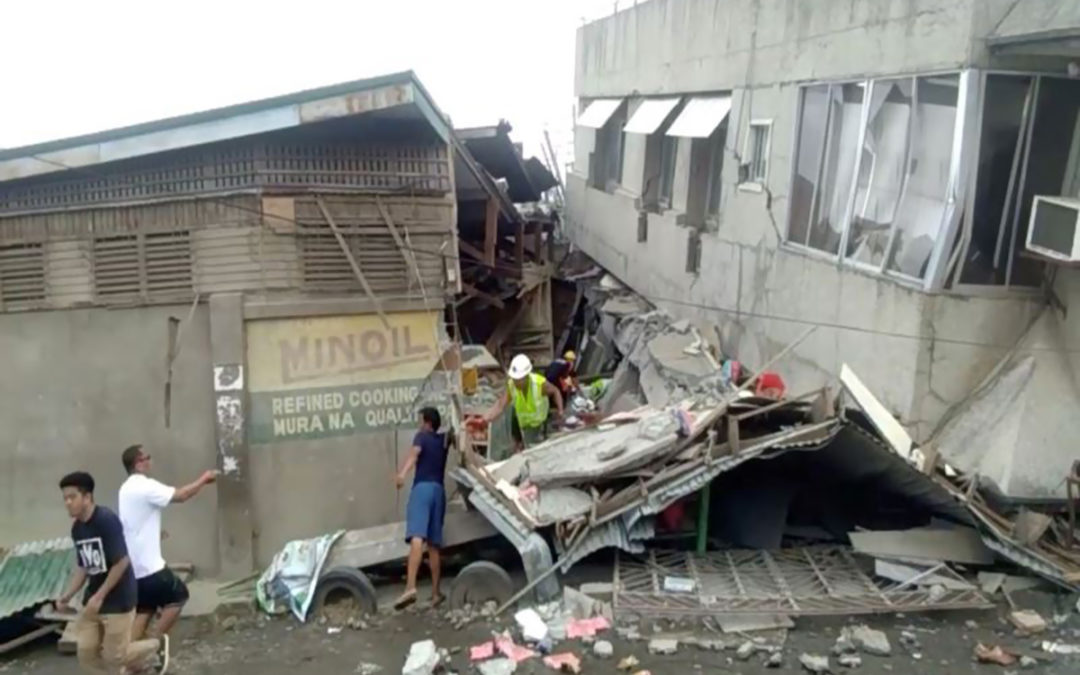 ارتفاع حصيلة قتلى زلزال الفيليبين الى 3