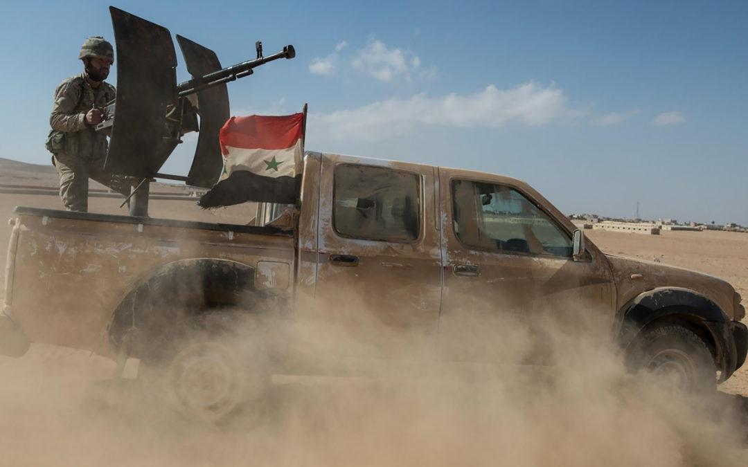 الجيش السوري: قواتنا على بعد كيلومترات قليلة من بلدة معرة النعمان الاستراتيجية