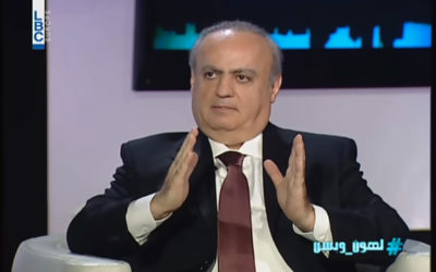 """وهاب لقناة الـ """"LBCI"""": الحريري إنتهى والإنهيار حتمي"""