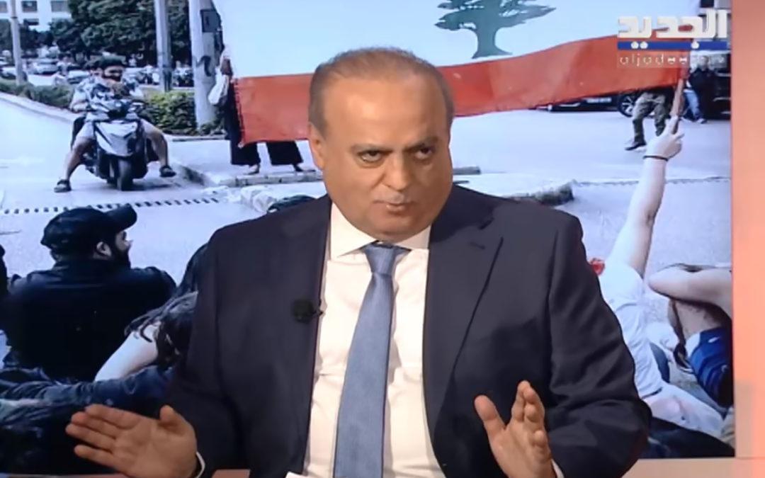 """وهاب لقناة """"الجديد"""": المشهد على مستوى المنطقة لن ينتهي إلا بتسوية تضمن مصالحها"""