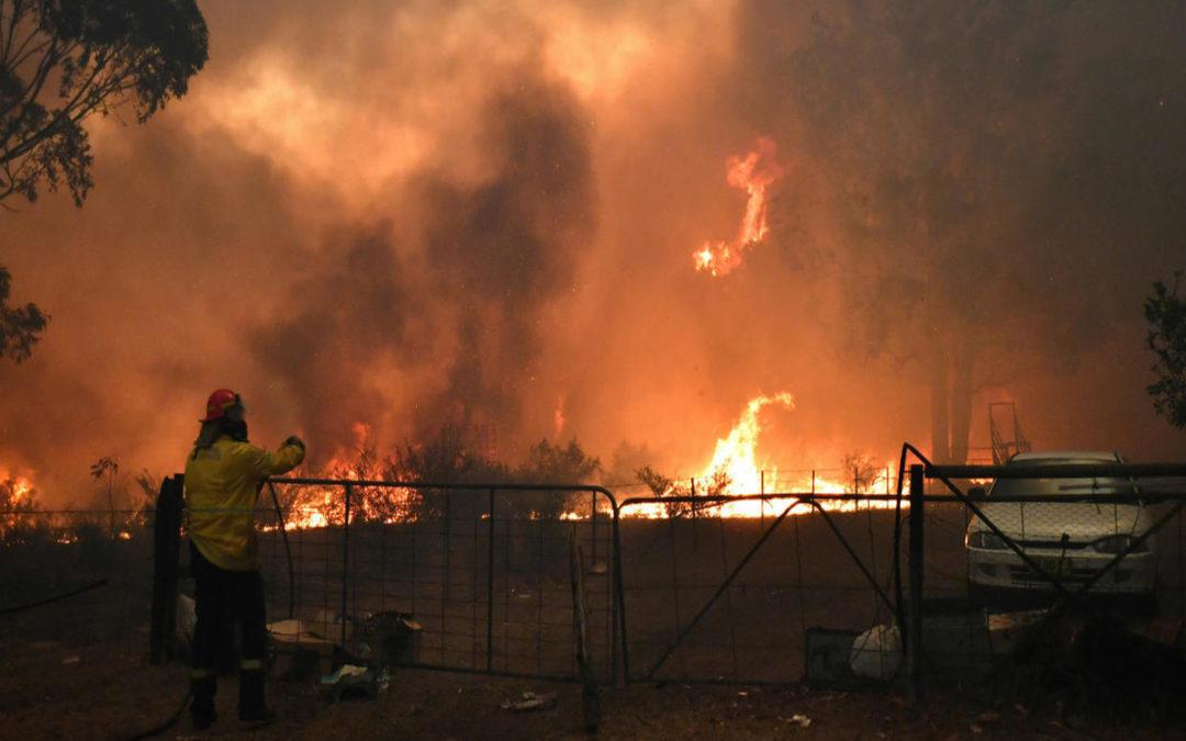 اخلاء مدن في أوستراليا بسبب اشتداد الحرائق
