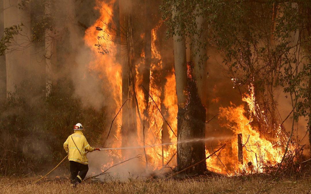 السلطات الاوسترالية اعلنت حال الطوارئ