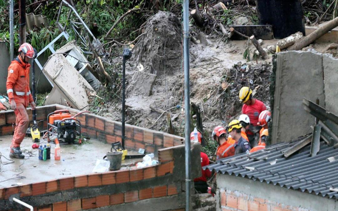 ارتفاع حصيلة ضحايا العاصفة جنوب شرق البرازيل الى 44 قتيلا