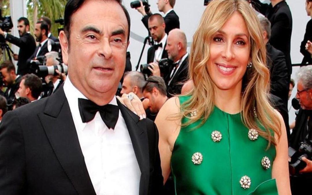 مذكرة اعتقال في حق زوجة كارلوس غصن